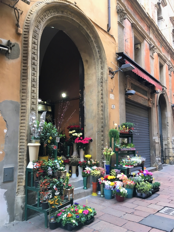 flower markets bologna italy quadrilatero