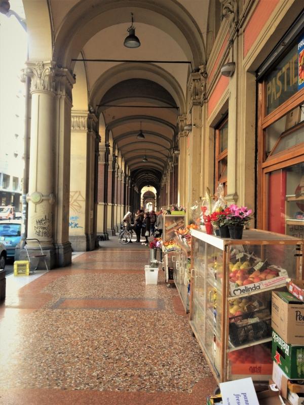 via irnerio porticoes of bologna portici italian architecture