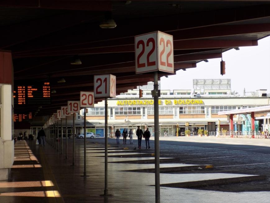 Bologna bus station