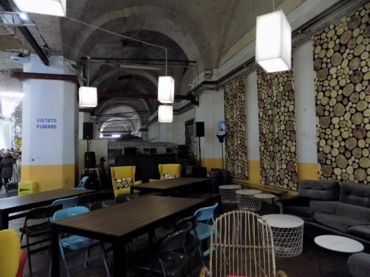 The Garage Bologna Dynamo velostazione urban market