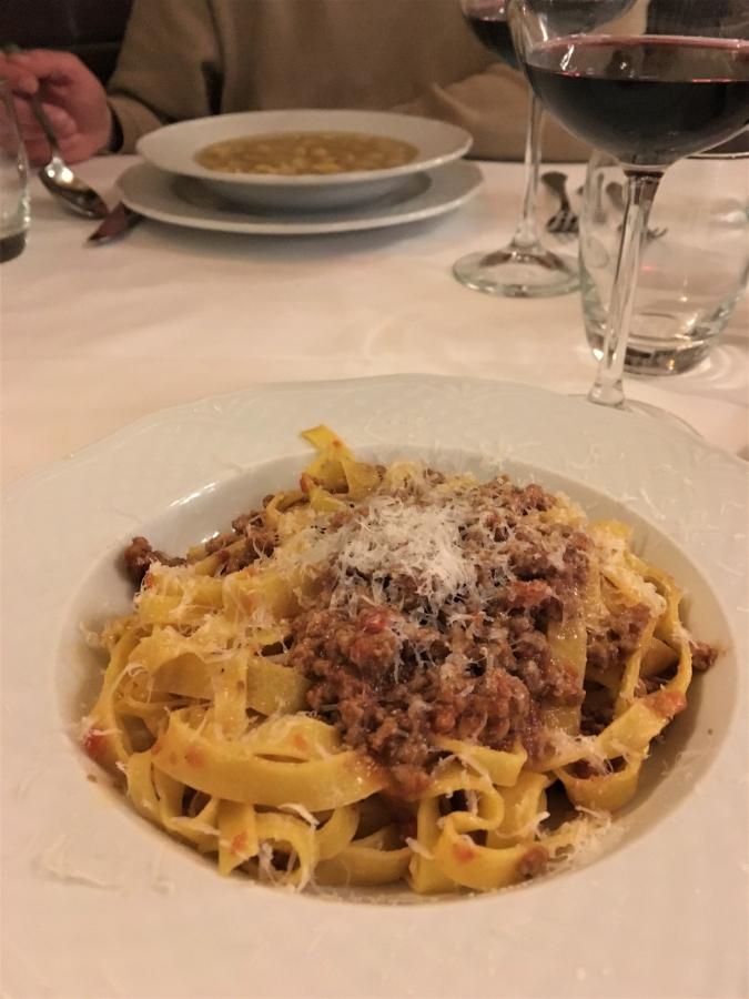 trattoria serghei restaurants in bologna italy tagliatelle al ragu tortellini in brodo