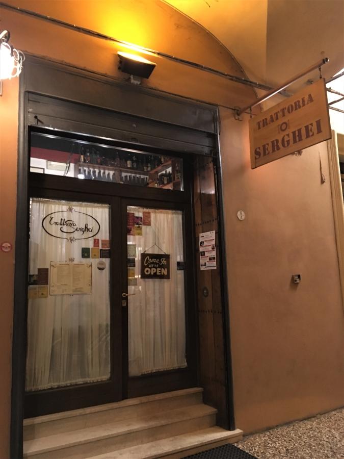trattoria serghei restaurants in bologna italy