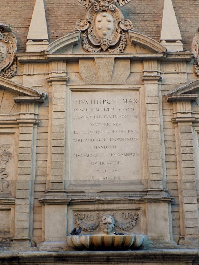 La Fontana Vecchia Bologna Via Ugo Bassi pope pius iv