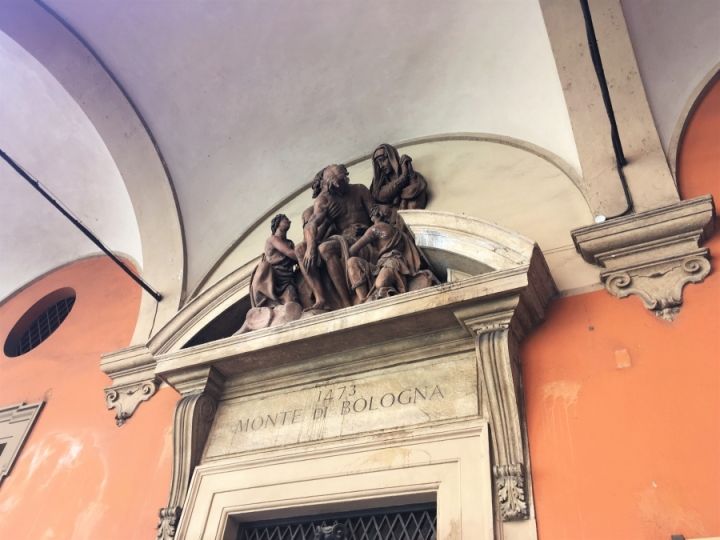 Good Friday deposition of christ palazzo del monte di pieta