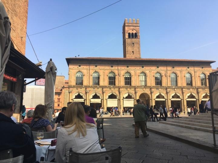 Good Friday Piazza Maggiore Bologna