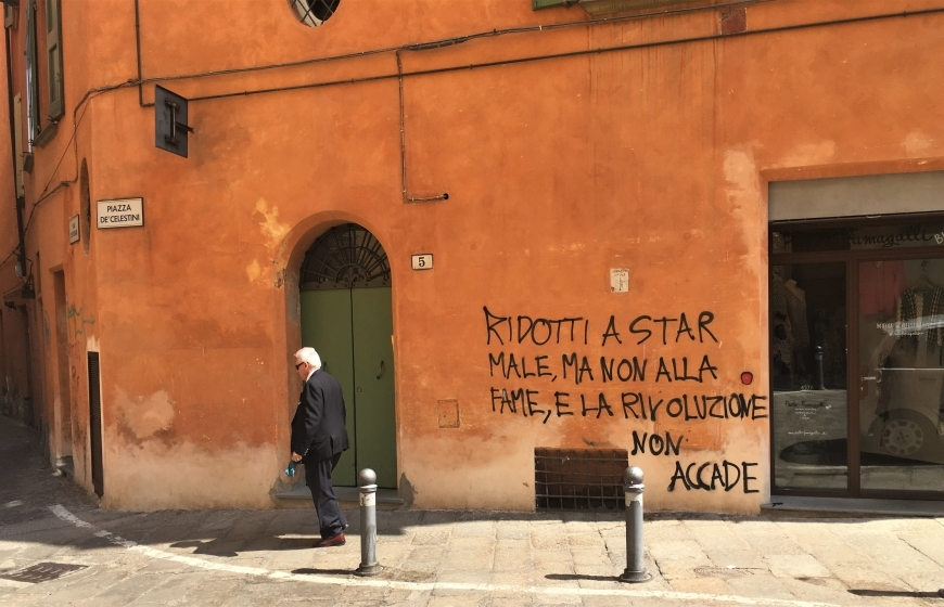 bologna street art is it art what is art