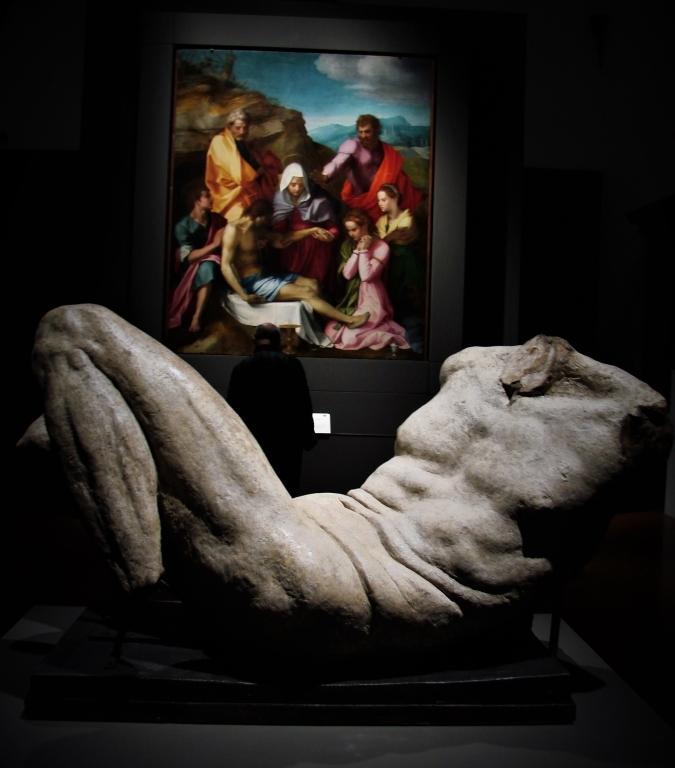 michelangelo cinquecento del sarto renaissance art palazzo strozzi