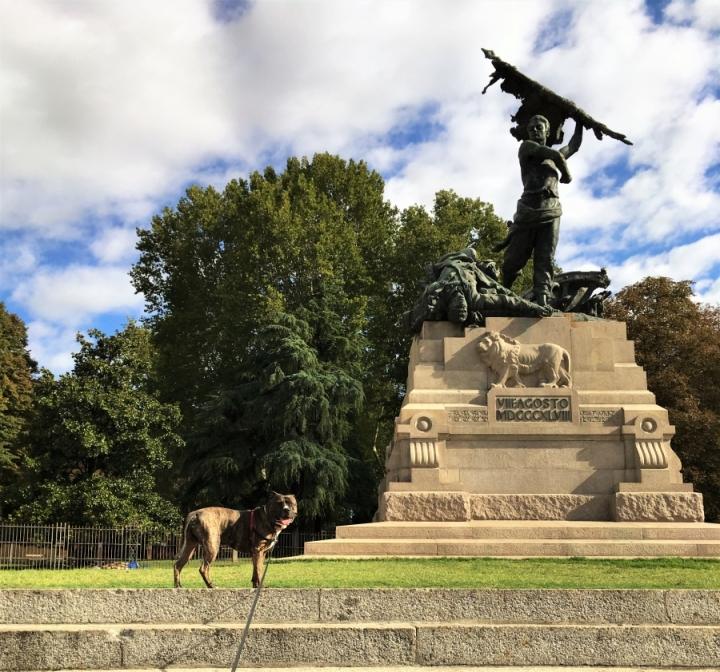 sculpture park montagnola bologna
