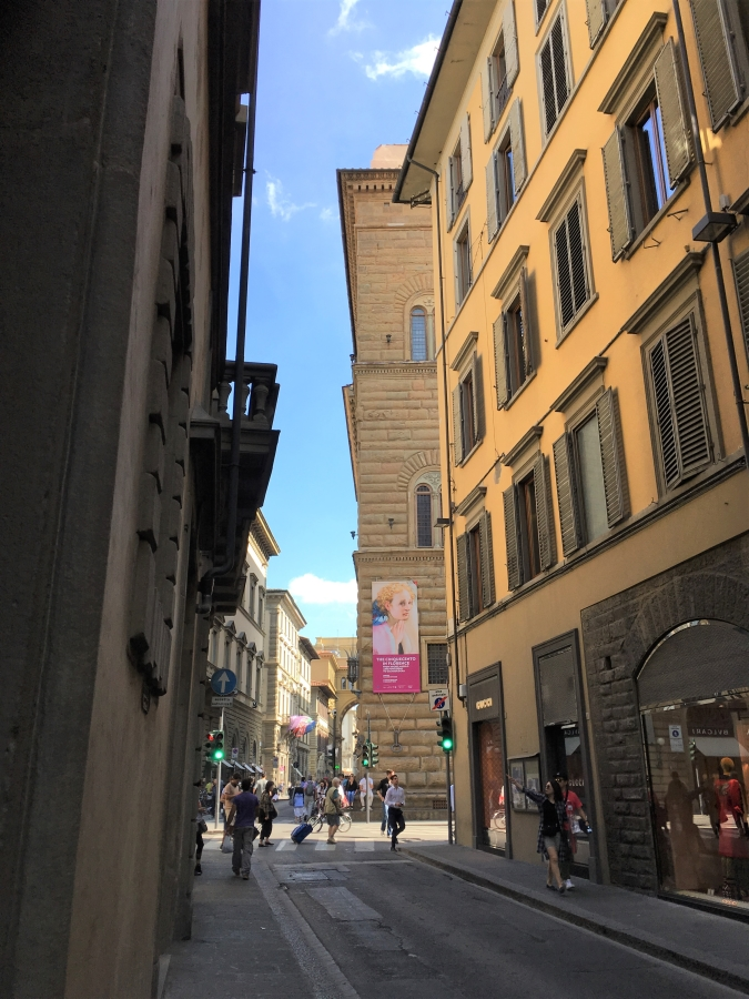 Palazzo Strozzi corner angolo scale photography travel florence