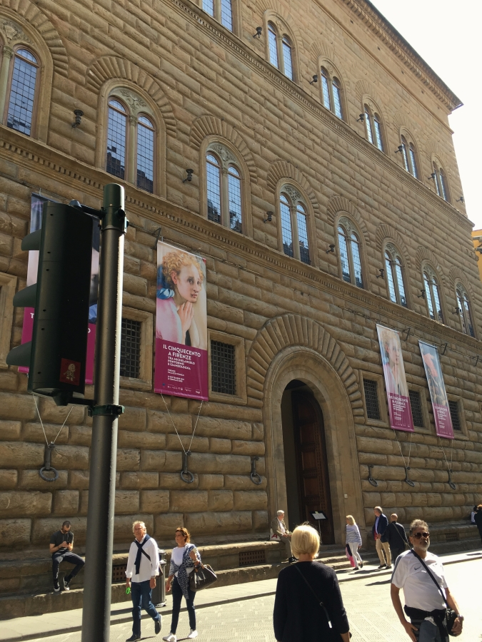 Palazzo Strozzi rustication museum florence