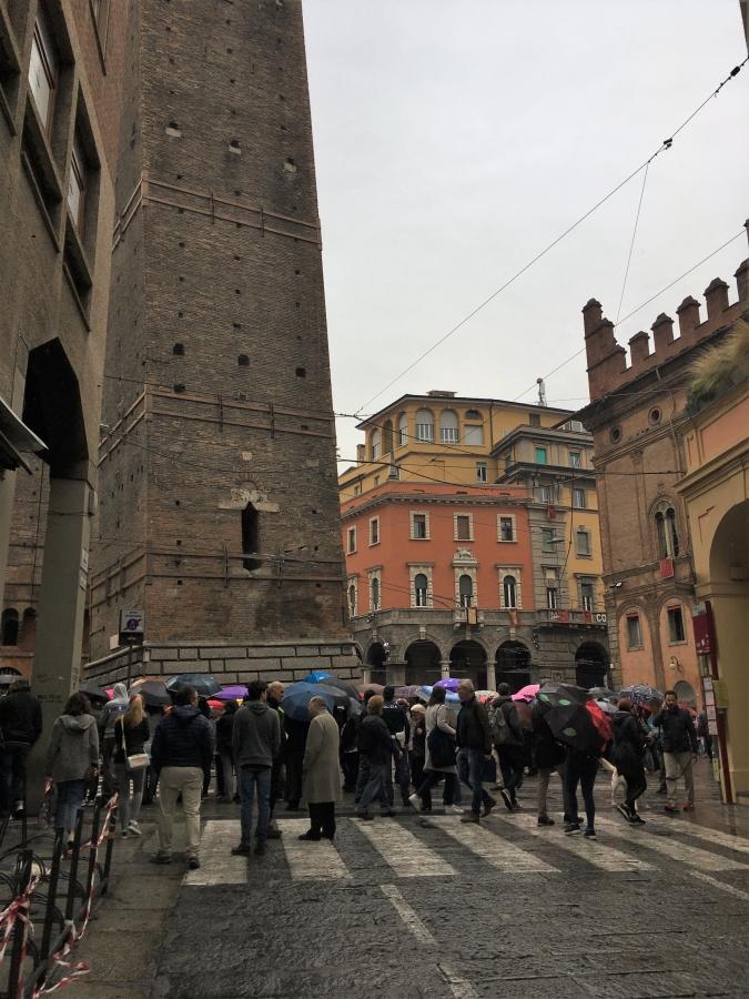 due torre bologna papal visit