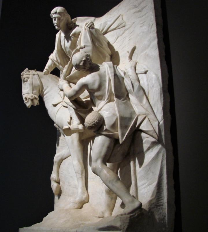 St. Martin Bernini sculpture palazzo strozzi cinquecento firenze