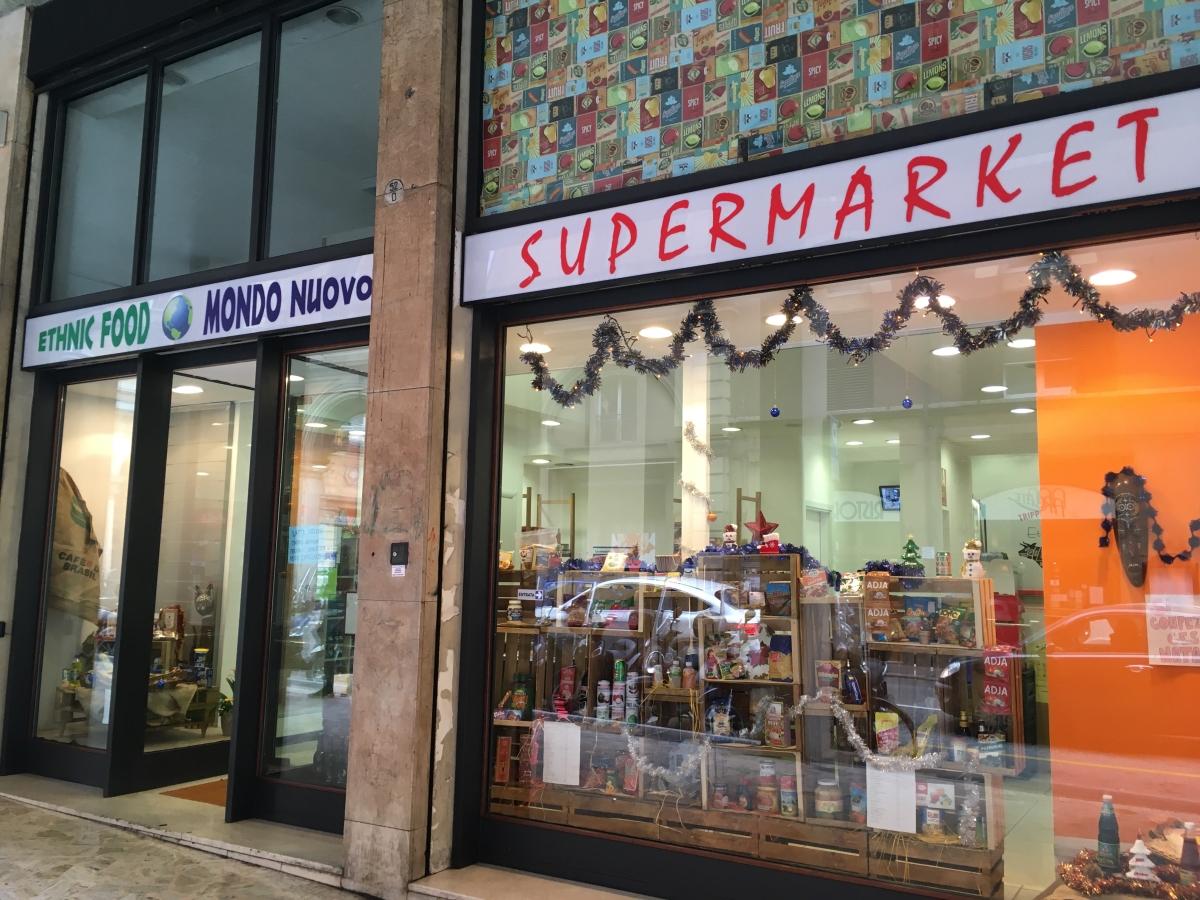 Okra Bologna Mondo Nuovo Supermarket via del borgo di san pietro