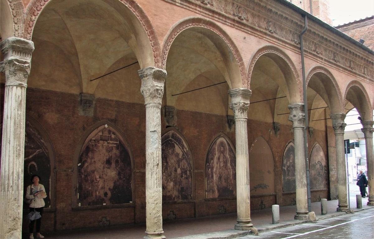 weathered Bologna wall art