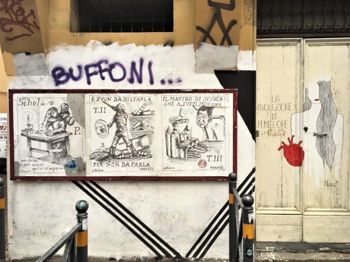 Guasto village street art bologna