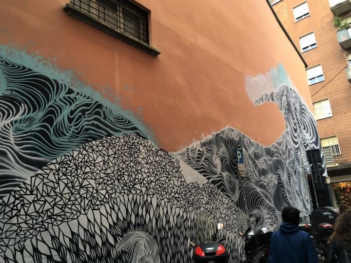 via majorana bologna murals street art graffiti