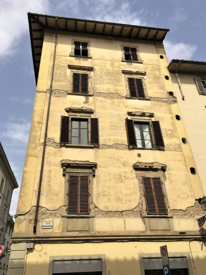 florence italy architecture rustic window shutters